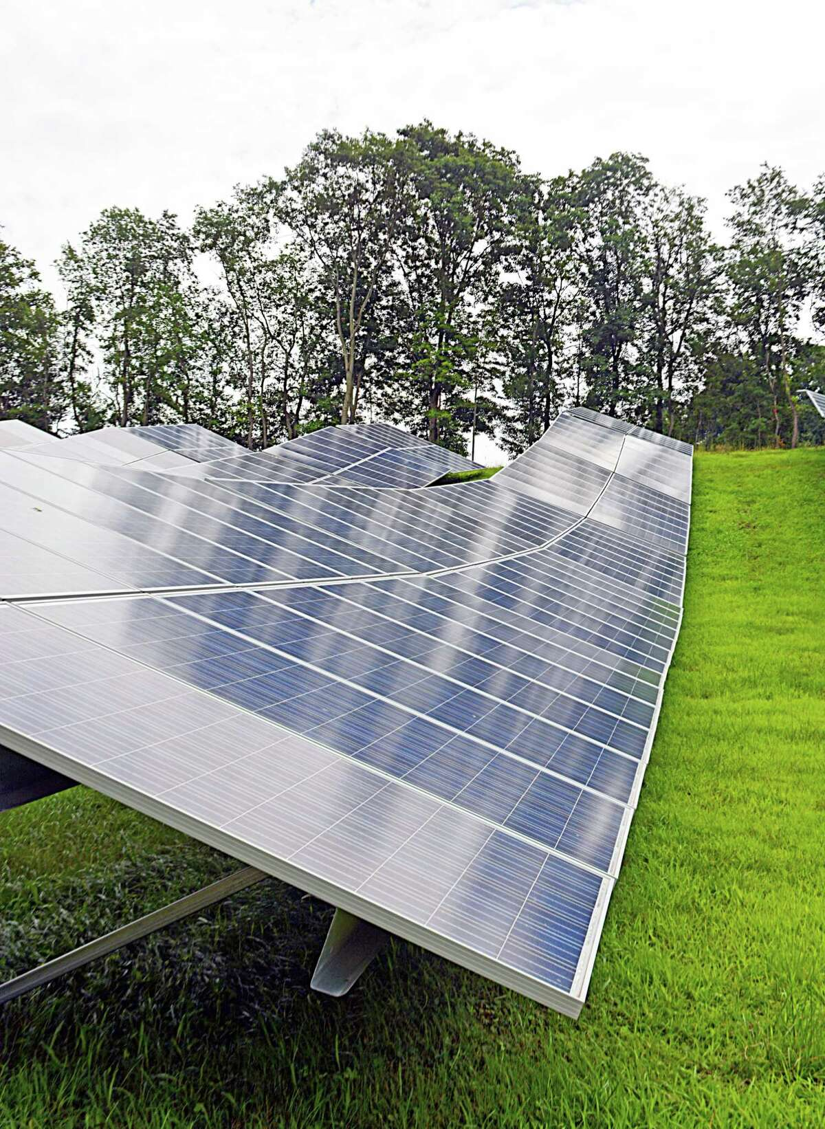 The solar array will supply 75 percent of the power needed to operate it. Greenskies will sell the power produced to Middletown at a discounted rate for the length of the contract.