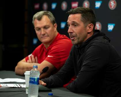 49ers' Lynch on reported 'friction' with Shanahan: 'It's nonsense'