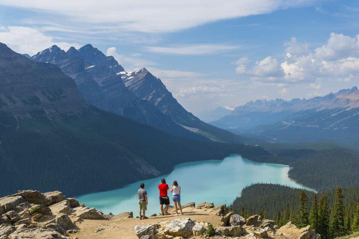 Peyto Lake, Banff National Park, British Columbia, Canada