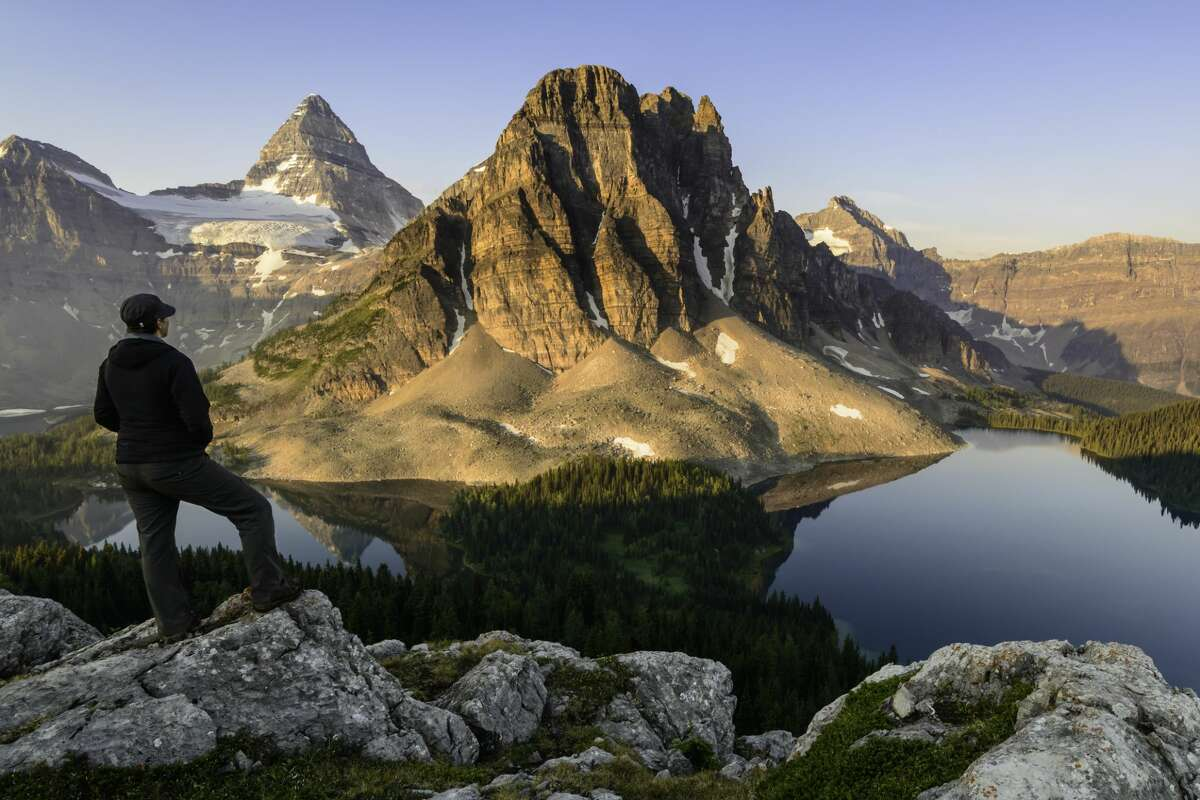 Mt. Assiniboine Provincial Park. Only British Columbia residents will be permitted to camp there this summer.