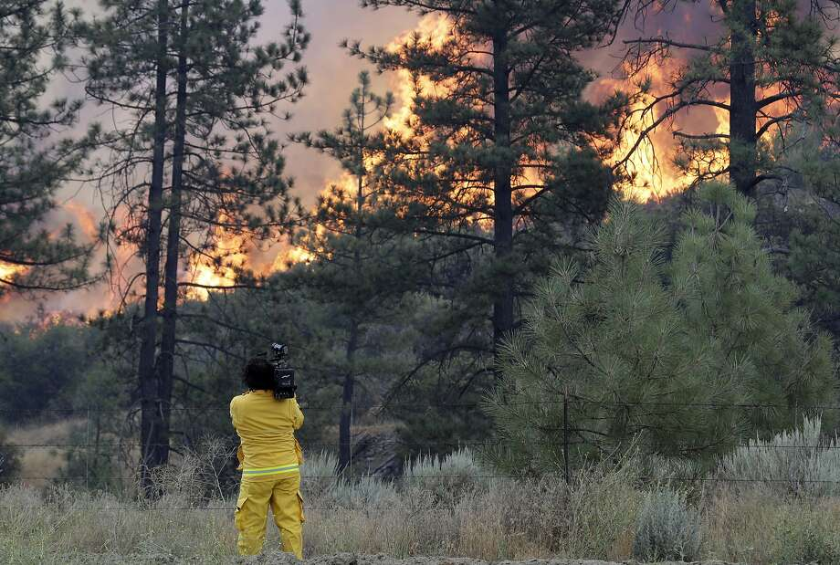 Here are the dumbest, most careless human causes for wildfires that we could find. Photo: Marcio Jose Sanchez, Associated Press