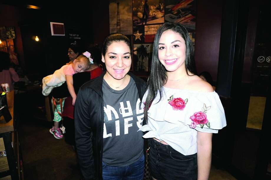 Esmeralda Ortiz and Rebecca Tenorio at Applebee's Grill & Bar