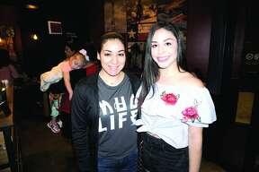 Esmeralda Ortiz and Rebecca Tenorio at Applebee's Grill & Bar Friday, July 27, 2018