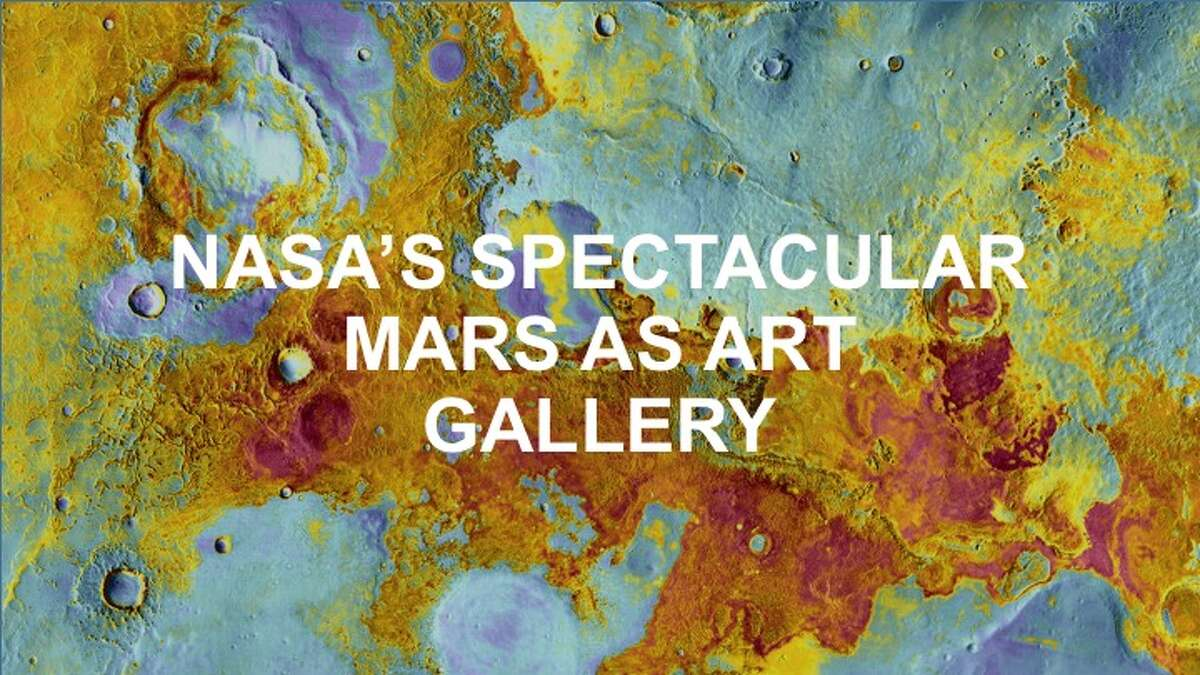 Click through to see NASA's awesome Mars as Art gallery. >>>