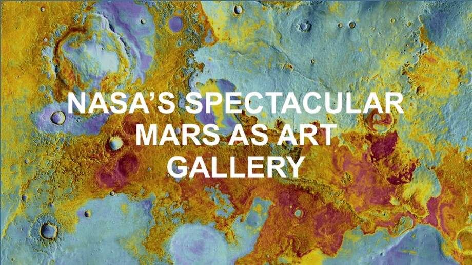 Click through to see NASA's awesome Mars as Art gallery. >>> Photo: NASA/JPL-Caltech/Arizona State University