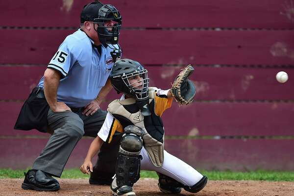Manchester National defeats Madison, 5-3, in the Little League state championship playoffs, Thursday, July 26, 2018, at Presidents Field at the East Lyme Little League Complex in East Lyme.