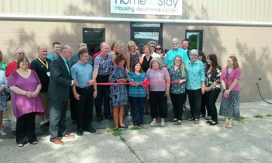 Home To Stay Housing Assistance Center hosted an open house at its new location on 205 S. Saginaw Road, just off the Circle. (John Kennett/jkennett@mdn.net)