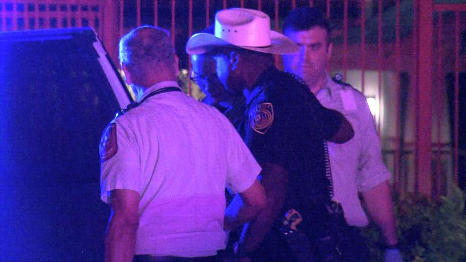 The man got into an altercation with the security guard around 11:30 p.m. at the Thirty Oaks apartments in the 11400 block of Culebra Road, according authorities. Photo: Ken Branca