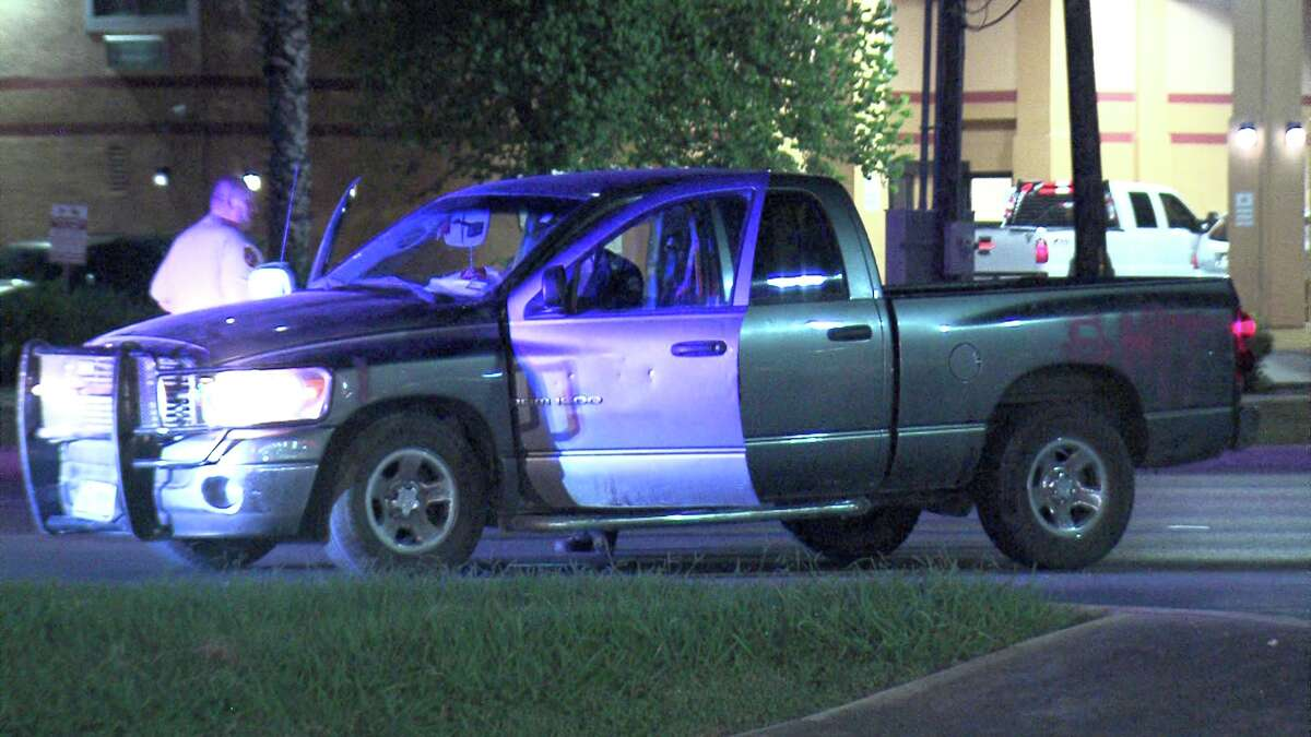 Floresville police initiated the chase with the suspect, who has not been identified, and followed him all the way to Southeast Military Drive in San Antonio proper, where he bailed out of his car and fled on foot.