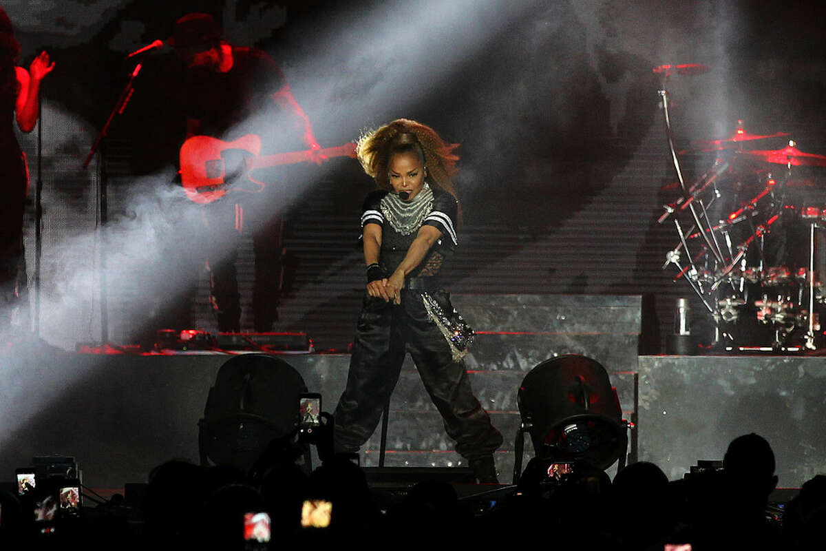 anet Jackson performs at the 2018 Essence Festival at the Mercedes-Benz Superdome on Sunday, July 8, 2018, in New Orleans.