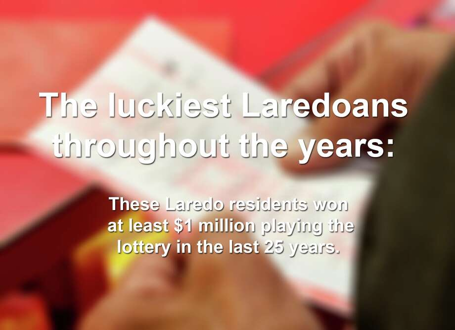 At least 13 Laredoans have won $1 million or more playing the lottery through the years. Click through the slideshow to find out how much they won and when they claimed their winnings. Photo: Courtesy Of Texas Lottery