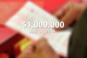 On July 31, 2014, Reynaldo Ramirez won $1 million playing the Texas Two Step $1,000,000 at the Valero Corner Store in Laredo.