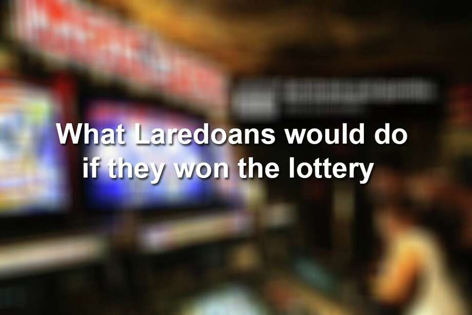 Click through the gallery to see what Laredoans on social media said they would do with the winnings. Photo: Facebook