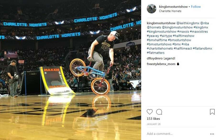 Keith King is the owner of BMX Stunt Shows, which is a traveling action sports show based in North Carolina, according to its Instagram page. Photo: Instagram