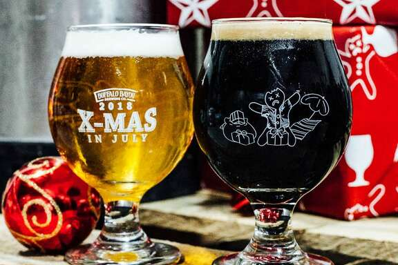 Buffalo Bayou Brewing's annual (and sweaty) Christmas-in-July party and celebration of good beer is July 28.