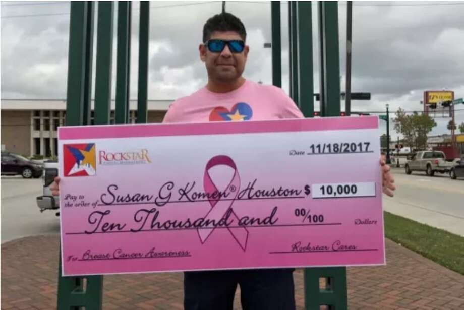 Male rock star breast cancer