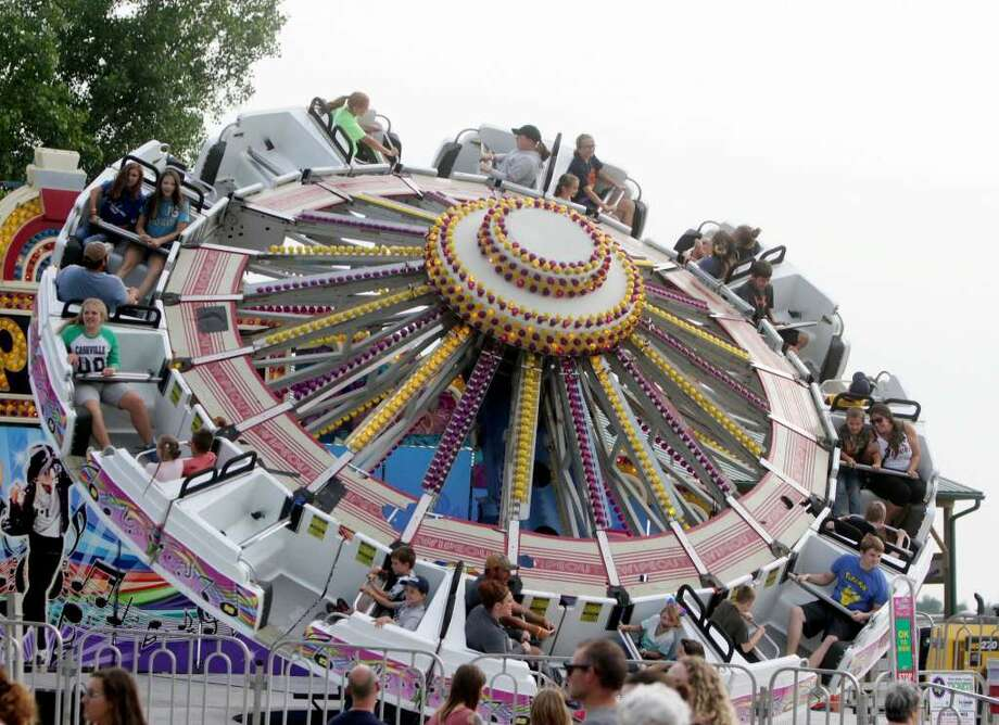 This is a ride featured at the 2017 Huron Community Fair. Photo: Tribune File Photo