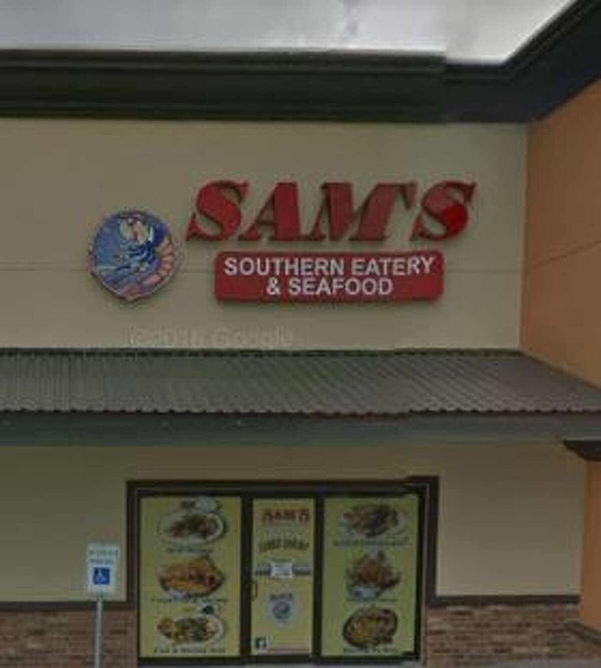 Sam's Southern Eatery 2949 College Score: 69 Violations: No sanitary bucket, employees did not wash hands before putting on gloves, no paper towels at sinks, dirty rusty shelves, employees did not wear hair restraints, multiple personal items in prep area, dirty floors and vent hoods.