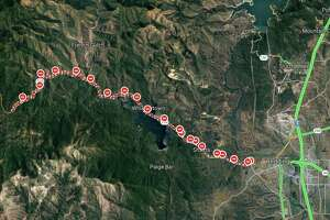 Road closures are in place as the Carr Fire rages in Shasta County.
