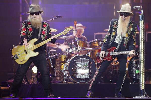 ZZ Top, a past TMAA winner, performs at the Houston Livestock Show and Rodeo Tuesday, March 21, 2017 in Houston.