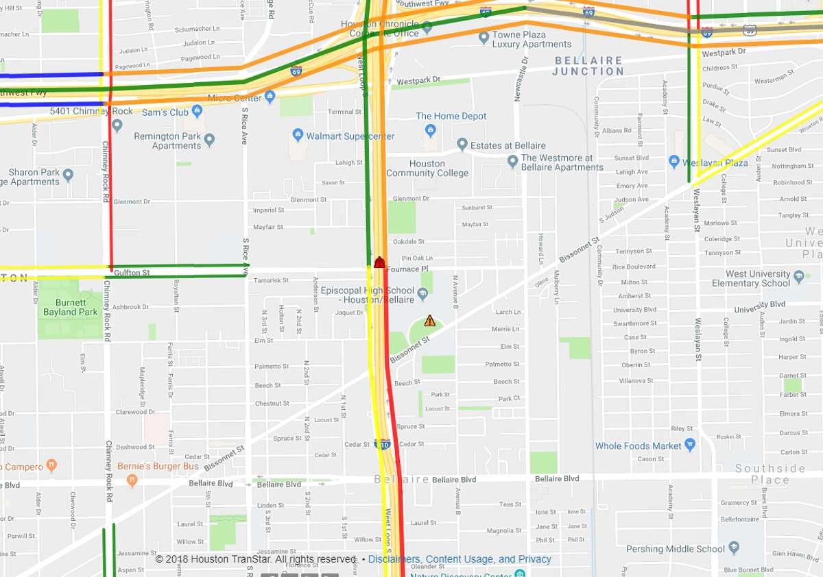 Closure: IH-610 West Loop southbound exit ramp to Fournace Place (total closure). Ballpark re-opening: Late summer, early fall 2019