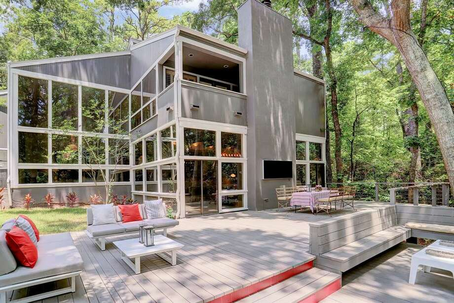 Gorgeous Hunterwood Home Brings The Outdoors Inside Houston Chronicle