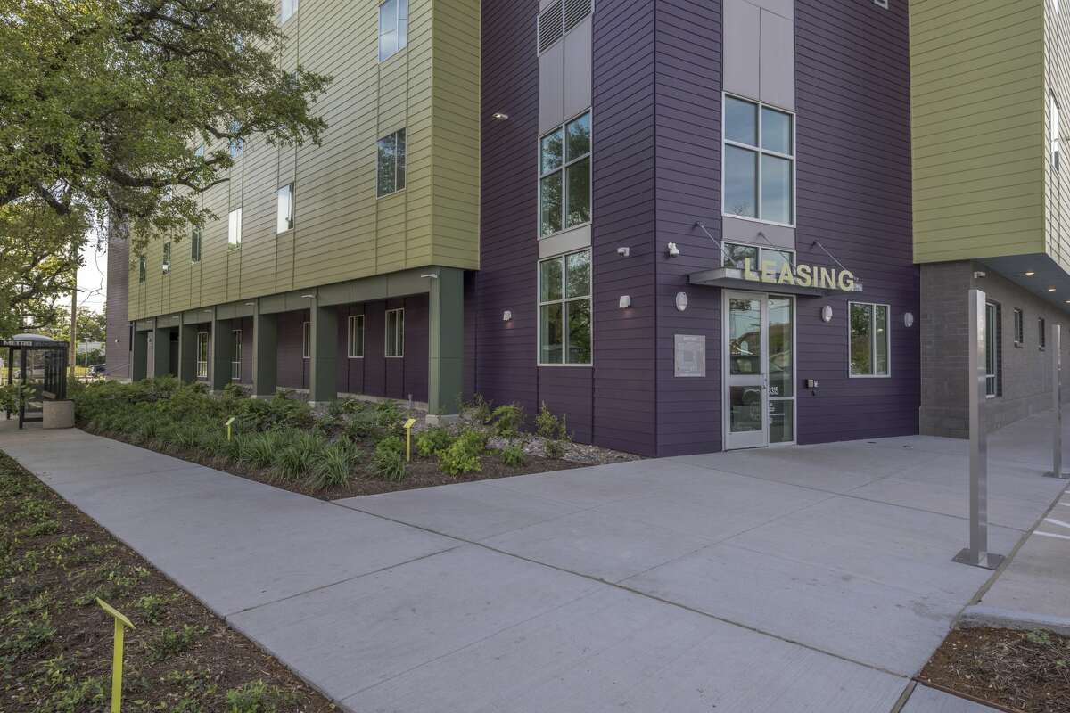 The New Hope Housing single-room occupancy building on Harrisburg in the East End, provides safe, clean efficiency apartments for the homeless and near homeless. The building is also on the Metro Green Line, giving residents access to jobs and services elsewhere.