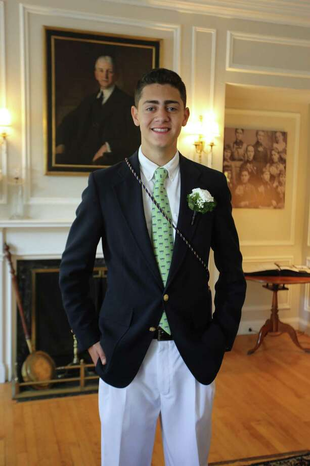 Michale NeJaime of Torrington was among the 2018 graduates of Chase Collegiate in Waterbury. Photo: Contributed Photo