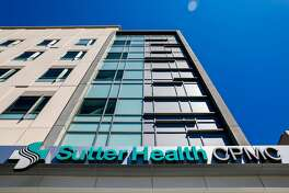 The exterior of the new Sutter-owned CPMC hospital in San Francisco, California, on Wednesday, July 25, 2018.