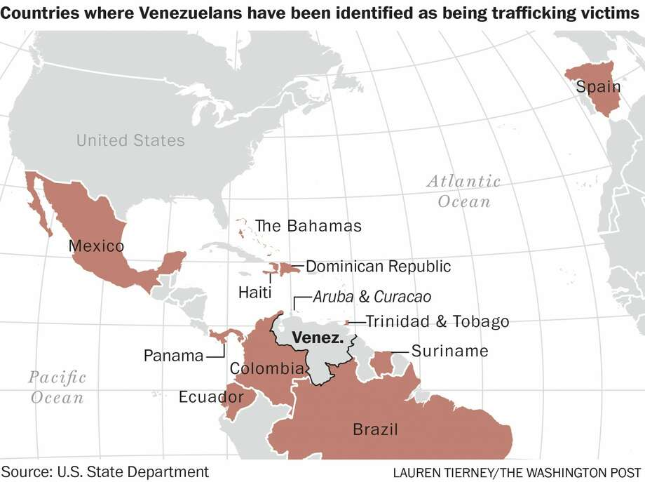 Venezuela, trafficking, Trinidad and Tobago Photo: Lauren Tierney/The Washington Po