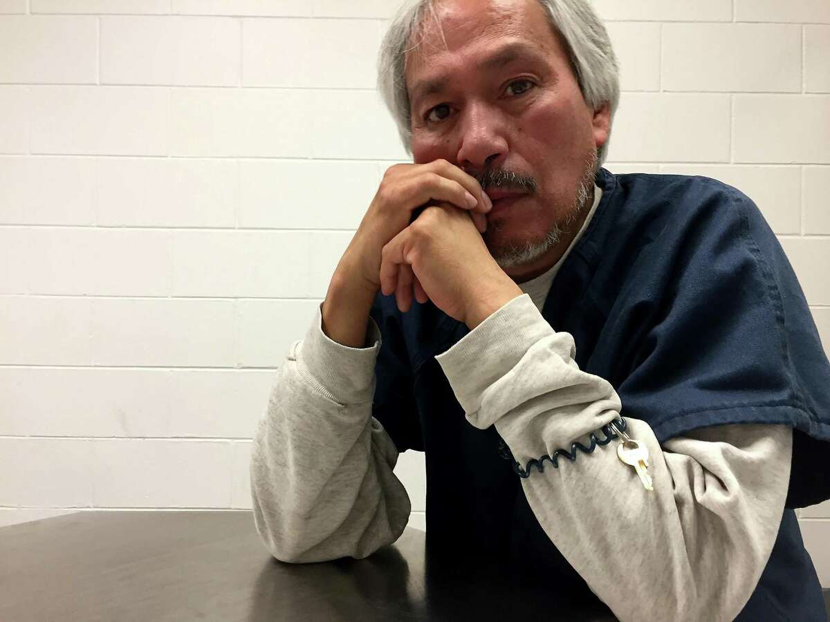 Emilio Gutierrez Soto, 54, fled Mexico for the United States in 2008 after he says soldiers upset with an article he wrote ransacked his home. His asylum request was denied in late 2017 and he has been detained in El Paso since then, but was released Thursday, July 26, 2018. (Kate Linthicum/Los Angeles Times/TNS)