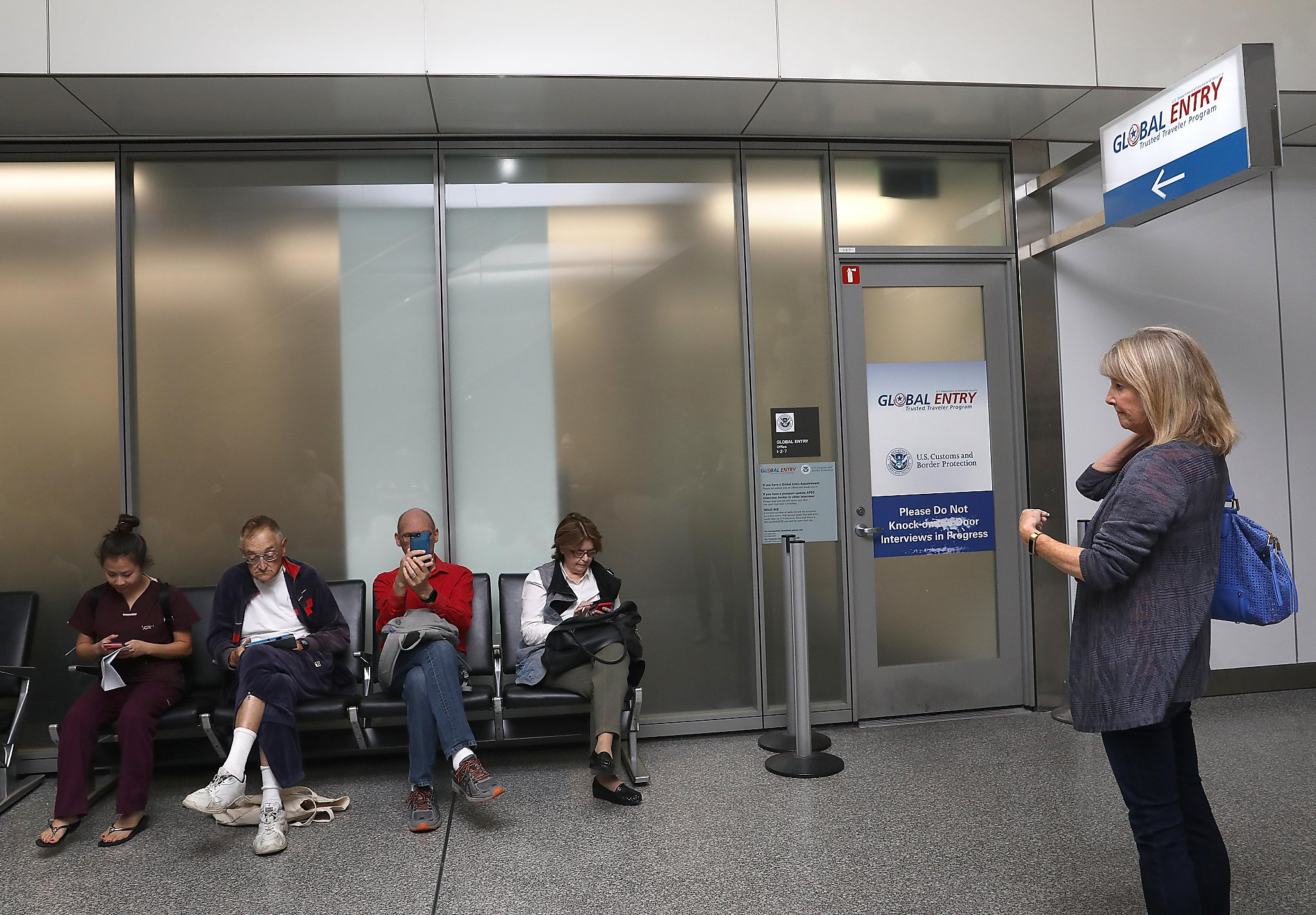 You can book a Global Entry interview at SFO through June 30