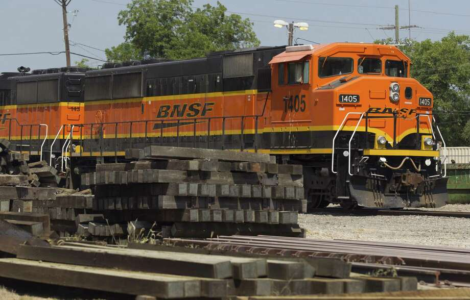 BNSF Railway is looking to closed several roads and add a siding track to help with train traffic in Dobbin. Photo: Jason Fochtman, Staff Photographer / Houston Chronicle / © 2018 Houston Chronicle