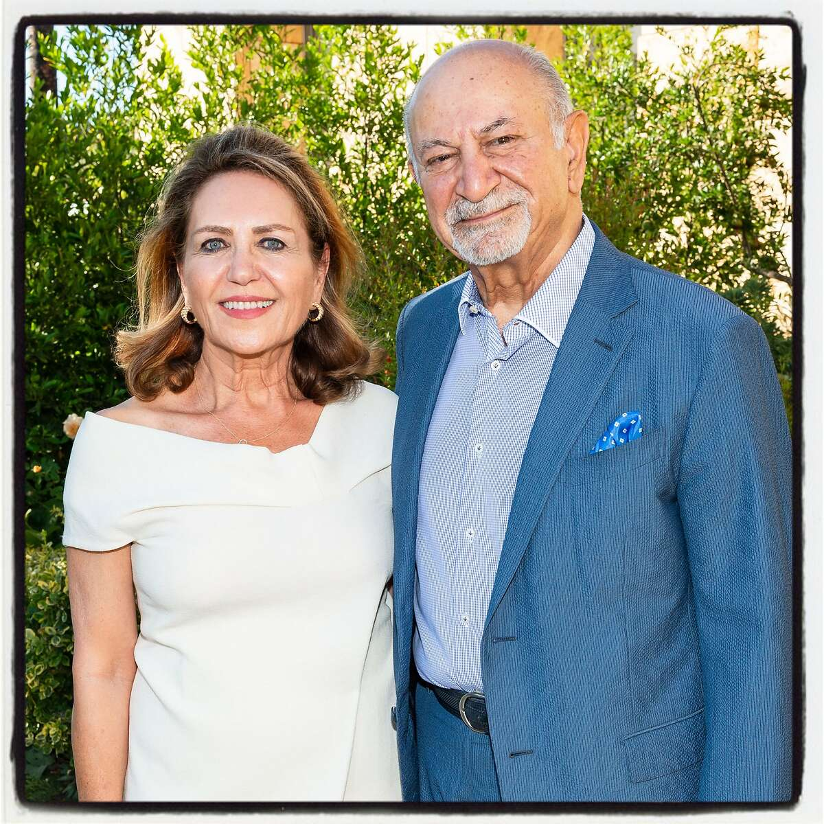Vintners Shahpar and Darioush Khaledi host Festival Napa Valley Founders Dinner at their Darioush Winery. July 19, 2018.