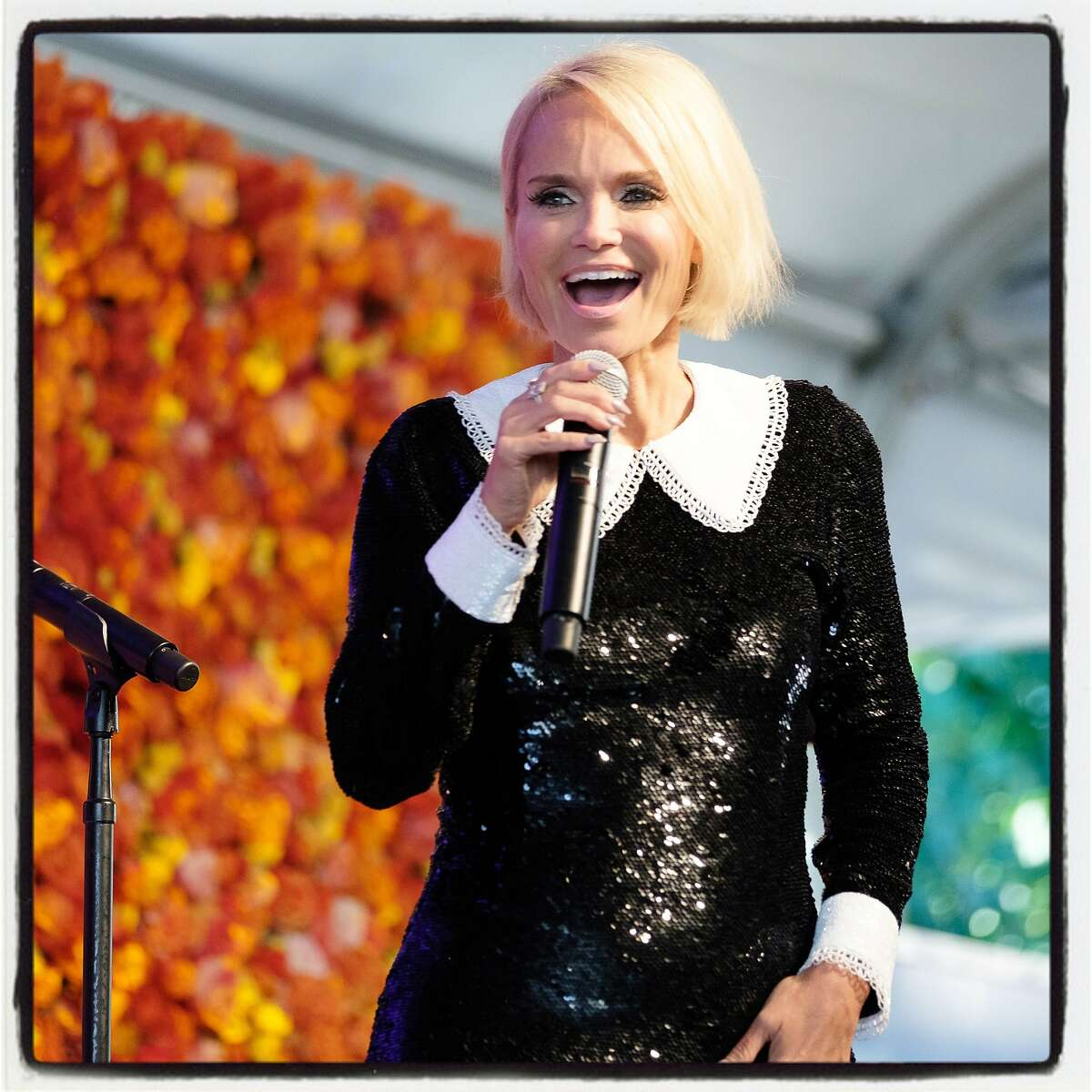 Kristin Chenoweth performs at Festival Napa Valley's Arts for All gala. July 22, 2018.