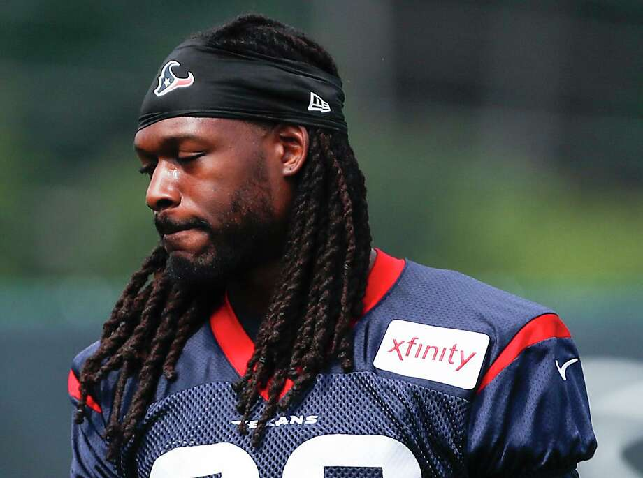 PHOTOS: Texans preseason vs. Rams  The Texans paid Jadeveon Clowney extra to finalize and sweeten the trade for the cap-strapped Seahawks. >>>See photos from the Texans' preseason finale against the Rams on Thursday ...  Photo: Brett Coomer, Staff Photographer / Houston Chronicle / © 2018 Houston Chronicle