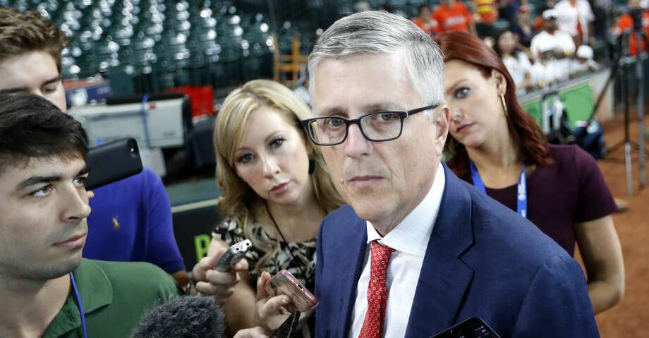 """PHOTOS: Astros game-by-game Astros general manager Jeff Luhnow said he is conversing with """"six or seven"""" teams about potential deals. Browse through the photos to see how the Astros have fared through each game this season. Photo: Karen Warren/Houston Chronicle"""