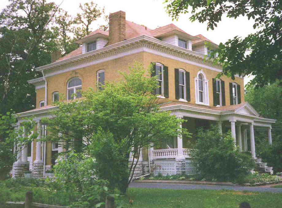 The Beall Mansion in Alton. Photo:       For The Edge