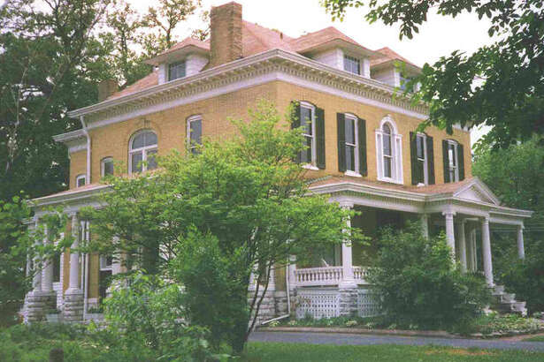 The Beall Mansion in Alton.