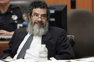 """FILE - In this June 25, 2018, file photo, Jordanian immigrant Ali Mahwood-Awad Irsan sits in court in Houston. Irsan was convicted Thursday, July 26, 2018, for two slayings described by prosecutors as """"honor killings."""" They say Irsan was enraged when his daughter left home and converted to Christianity, so he orchestrated the killings of his son-in-law and his daughter's friend who had encouraged the marriage. Sentencing will begin Friday, July 27, 2018, and Irsan faces life in prison or the death penalty. (Melissa Phillip/Houston Chronicle via AP, File)"""
