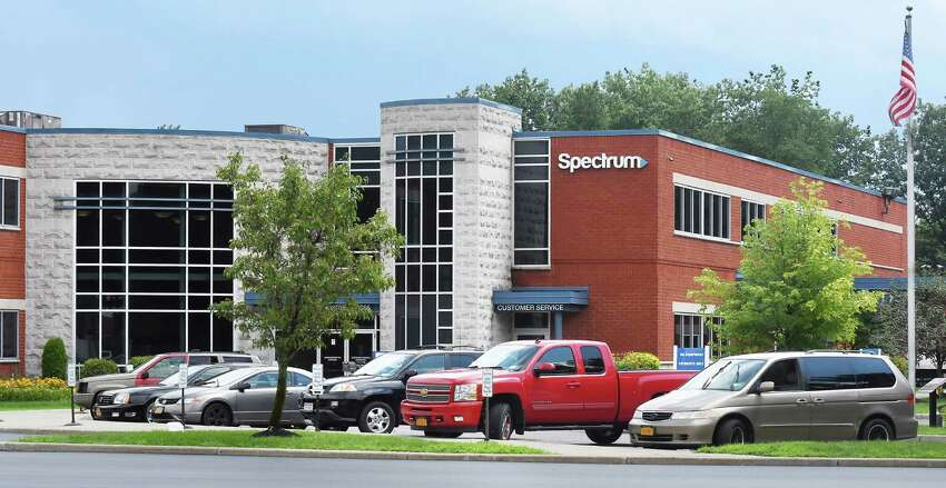 Spectrum offices on Highbridge Road Friday July 27, 2018 in Schenectady, NY. (John Carl D'Annibale/Times Union)