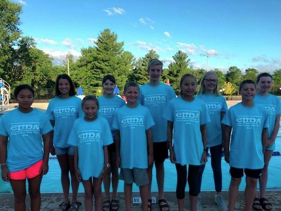 Pictured are (front row, from left) Alea Casipit, Vera Roberson, Gabe Soderberg, Ella Roberson, Eli Soderberg; (back row, from left) Jordan Johnson, Eryn Murphy, Noah Buist, Eleanor Hughes, Emmy Sower.