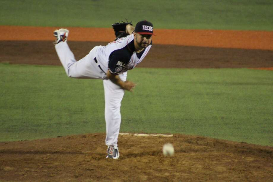 Reliever Tony Guerra, pictured, was credited with allowing the tying run in the eighth and Luis Enrique Rodriguez gave up a blown save in the frame in Friday's 4-3 loss. The Tecos have seven blown saves in 22 outings. Photo: Courtesy Of The Tecolotes Dos Laredos