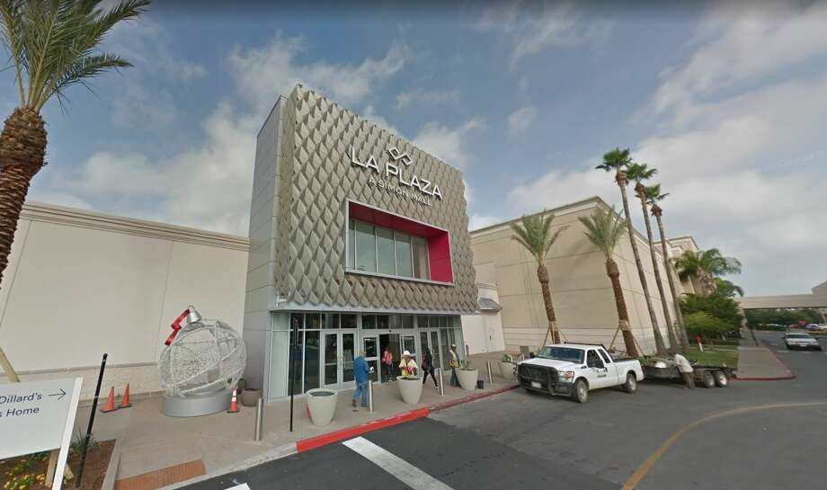 On Saturday, McAllen Police responded to a report of a robbery attempt at La Plaza Mall resulting in the arrest of seven Mexican nationals. Photo: Google Maps
