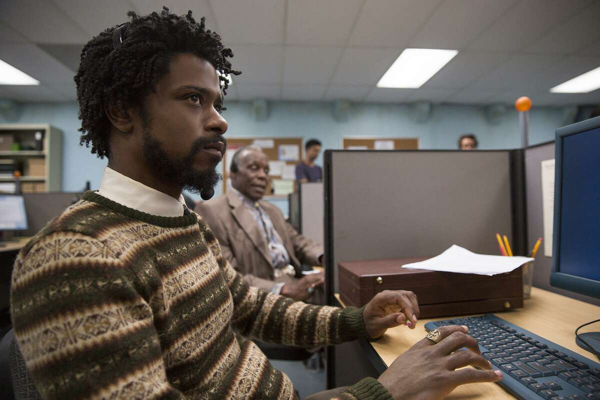 """Lakeith Stanfield in""""Sorry to Bother You."""" MUST CREDIT: Peter Prato - Annapurna Pictures."""