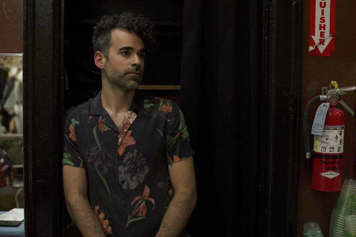 Michael Deni of Geographer gave his last concert as a San Franciscan at the Fillmore.