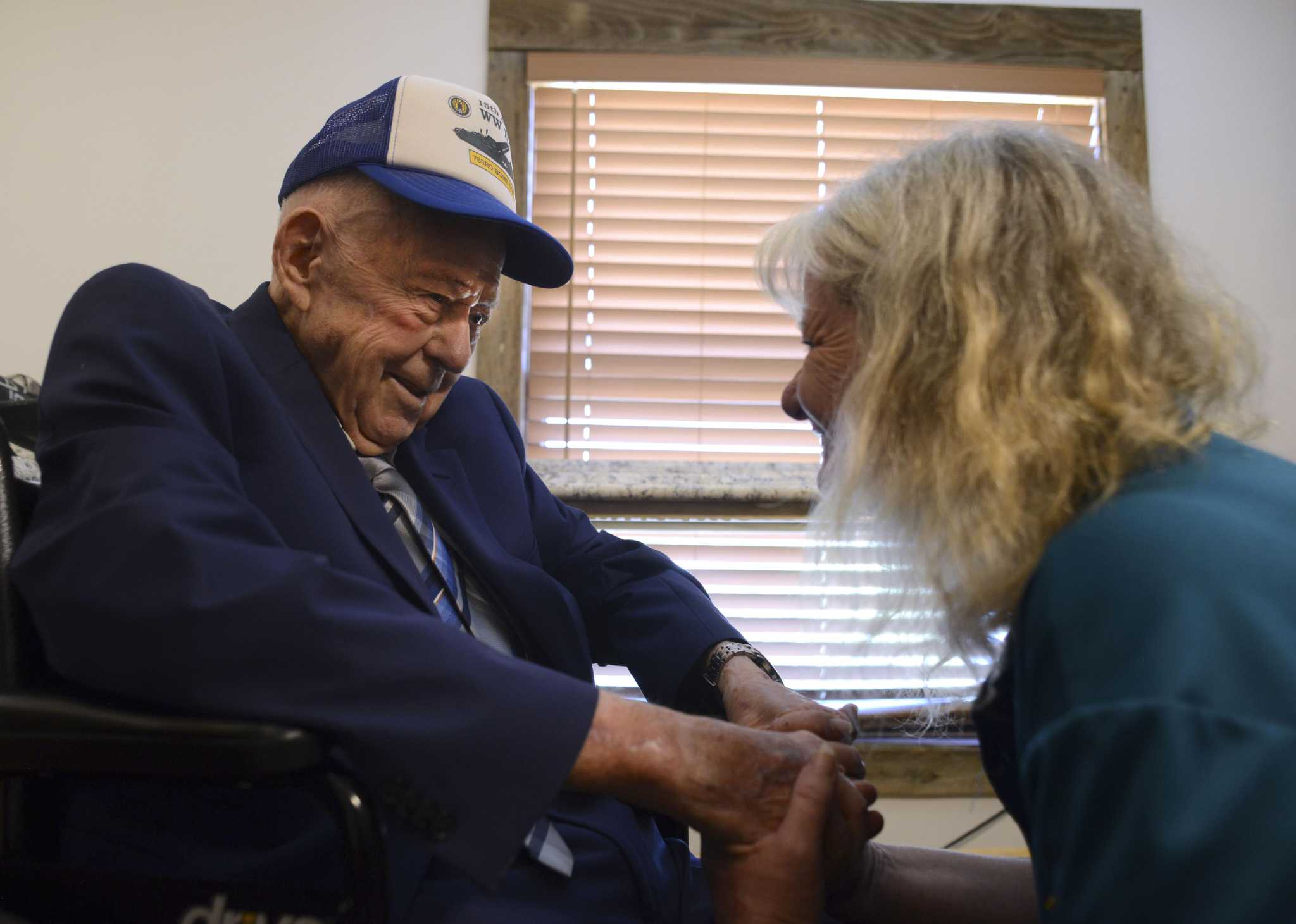 On 100th Birthday Bombardier Looks Back His Lucky Day