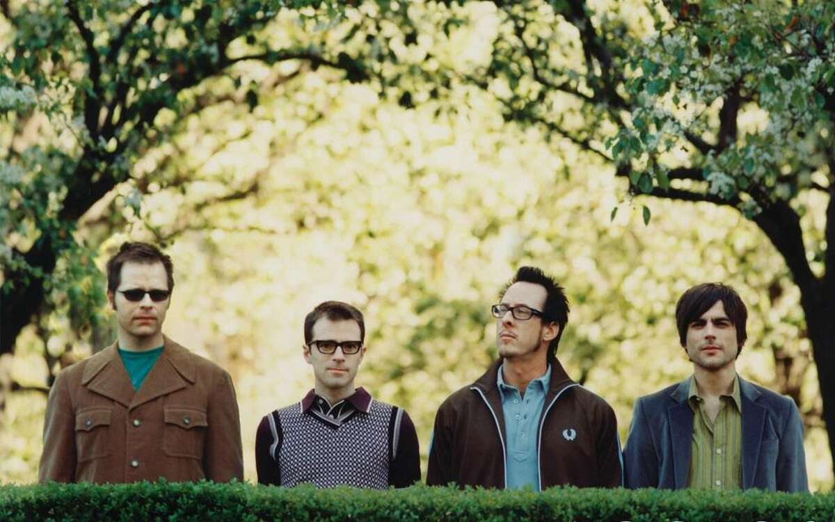 Weezer performs at MGM Grand at Foxwoods Thursday.