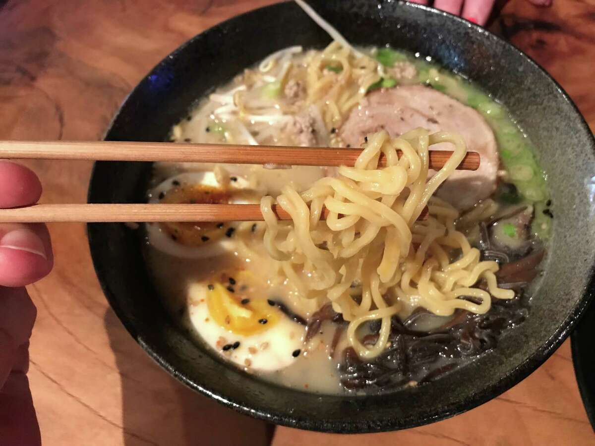Chef Jean-Philippe Gaston has expanded his ramen menu at Izakaya restaurant, 318 Bagby in Midtown.