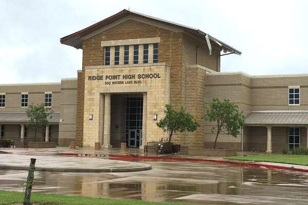 Ridge Point High School overcrowding may be addressed in a Fort Bend ISD bond issue later this year. Shown here, a tornado touched down near Ridge Point High School and caused severe damage to the surrounding area.